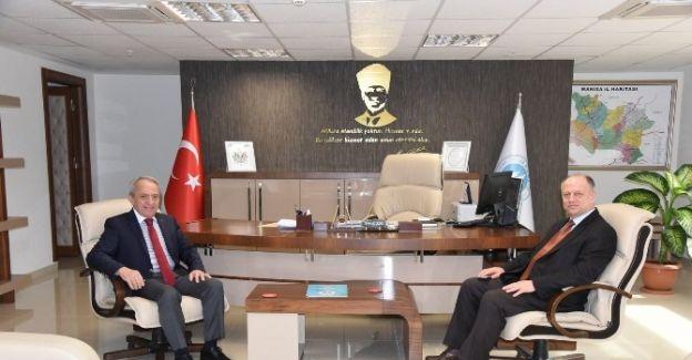 Kaymakam Çorumluoğlu'dan MASKİ'ye ziyaret