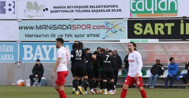 Manisa Büyükşehir Belediyespor, Dardanel'i farklı geçti