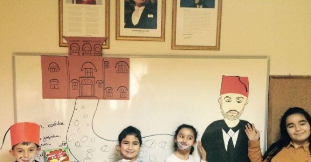 Minikler Mehmet Akif Ersoy'u tanıdı