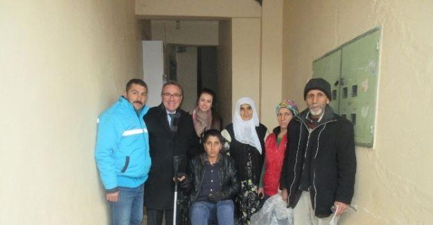 Salihli'de iki engellinin yüzü güldü