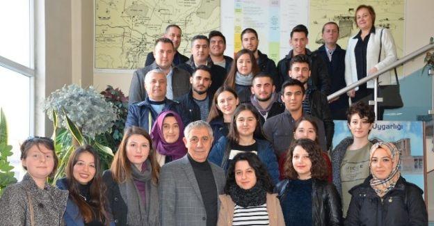 Üniversiteli gençler Salihli'nin tanıtım elçileri olacak