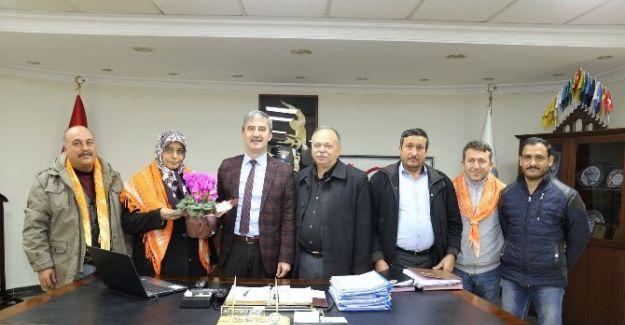 Yörük Türkmenleri'nin ilk ziyareti Başkan Şirin'e