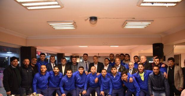 Ayn-ı Ali Spor'dan Başkan Çerçi'ye teşekkür