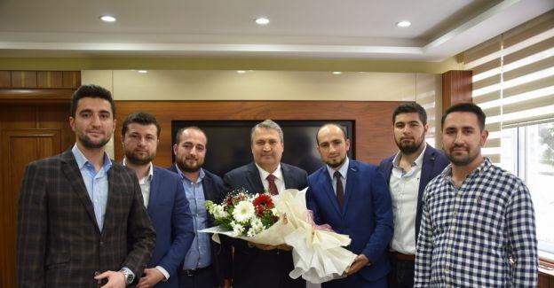 Genç MÜSİAD'dan Başkan Çerçi'ye ziyaret