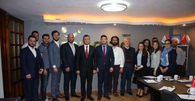 MAGİAD CHP'li Özgür Özel'i ağırladı