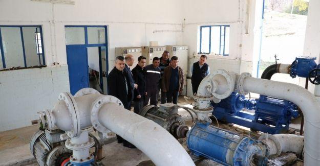 Manisa'daki içme suyu tesisleri modernize ediliyor
