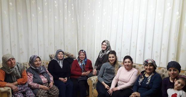 Sarıgöllü AK Kadınlar referandum çalışmalarına başladı