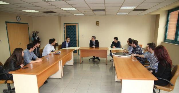 Başkan Şirin'den gençlere destek