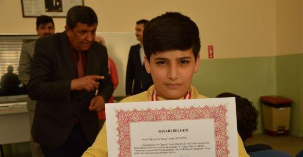 Recep Tayyip Erdoğan'a ödül