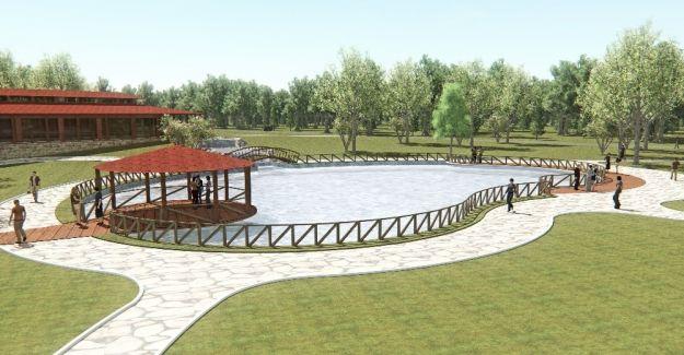 Ortaköy'de 'Biyolojik Gölet' projesine başlandı
