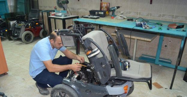 Turgutlu Belediyesi'nden engelli araçlarına ücretsiz tamir