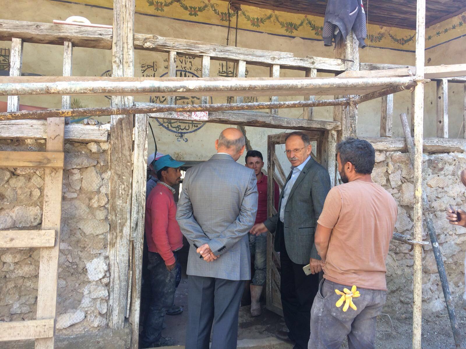 700 Yıllık Cami Restore Ediliyor