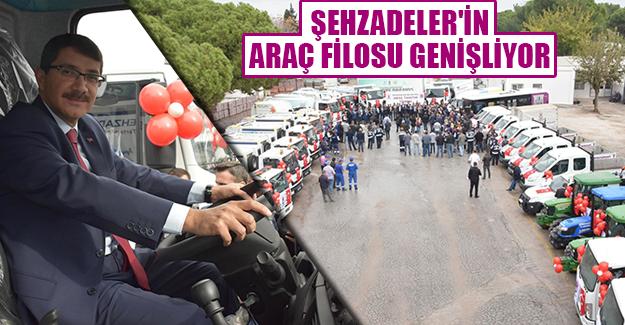 ARAÇ FİLOSU GENİŞLİYOR!