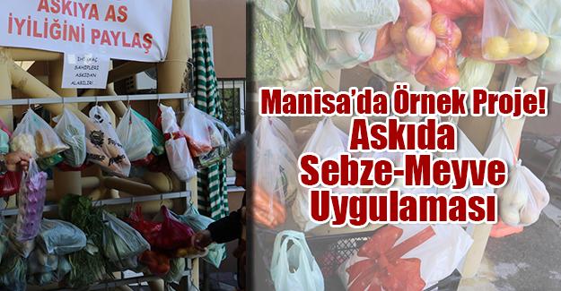 """""""ASKIDA SEBZE-MEYVE"""" PROJESİ"""