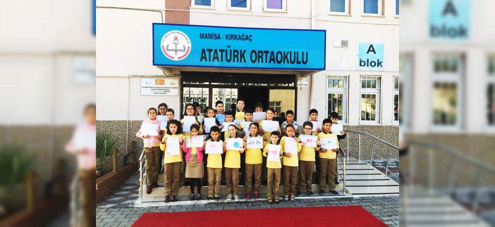 Kırkağaçlı Öğrencilerden Mehmetçiklere Mektup