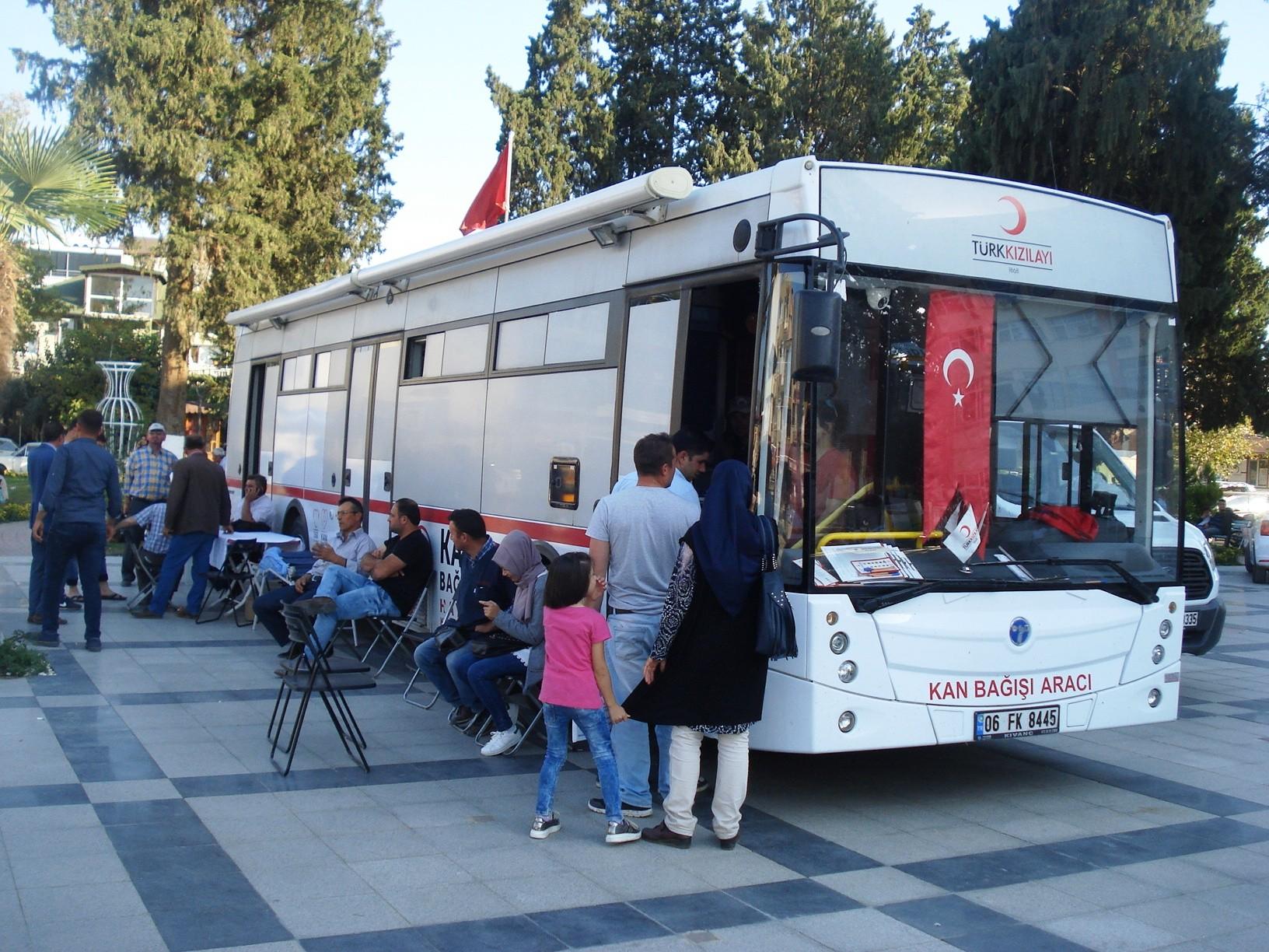 Kızılay, 2 Günde 110 Ünite Kan Topladı