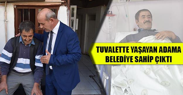 TUVALETTE YAŞAM MÜCADELESİ VERİYORDU...