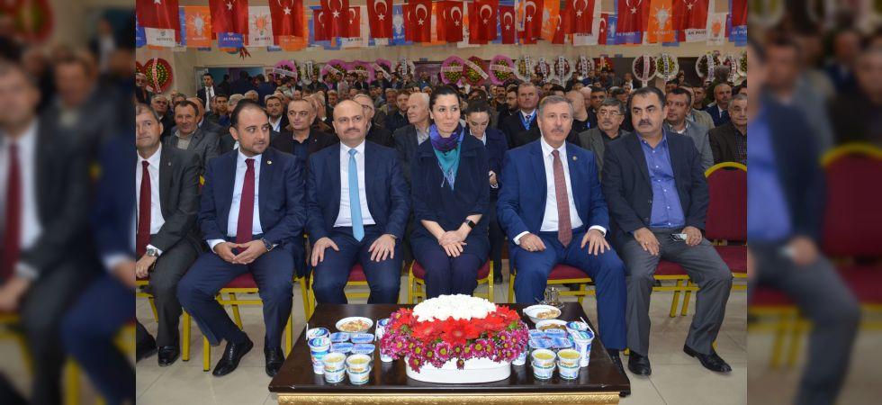 AK Parti Soma İlçe Teşkilatının 6. Olağan Genel Kurulu Yapıldı