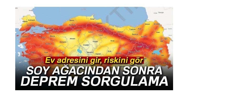 Adres ile deprem riski sorgulama sistemi açıldı!