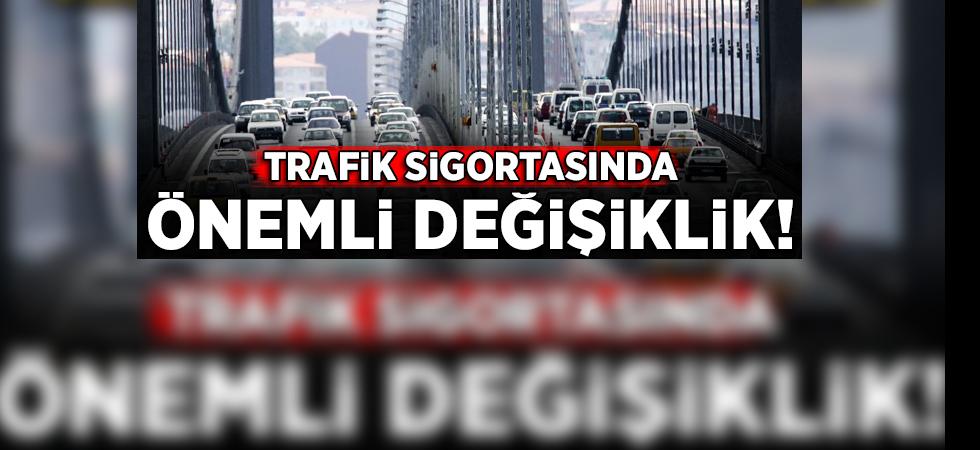 Araç sahipleri dikkat! Zorunlu trafik sigortası yönetmeliğinde değişiklik