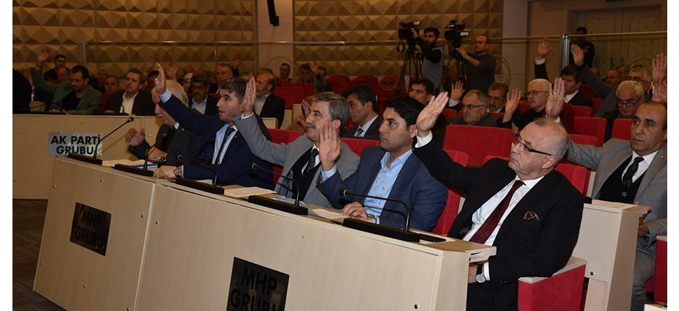 Manisa Büyükşehir Belediyesi bütçesi oybirliğiyle geçti