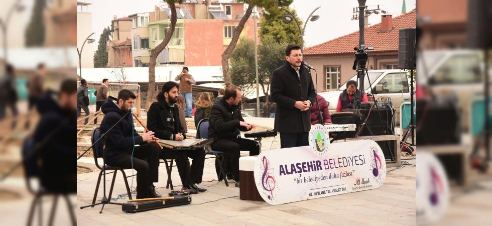 Alaşehir'de Şeb-i Arus Töreni