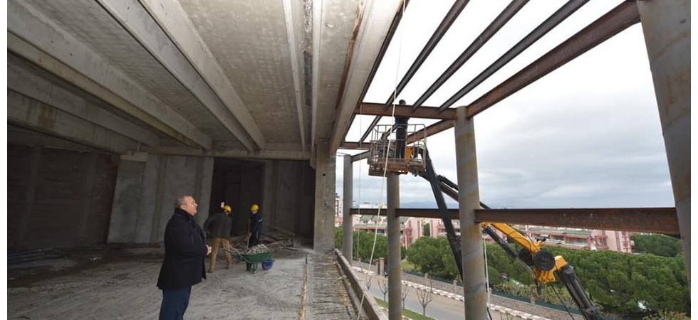 Başkan Çerçi projeleri yerinde inceledi