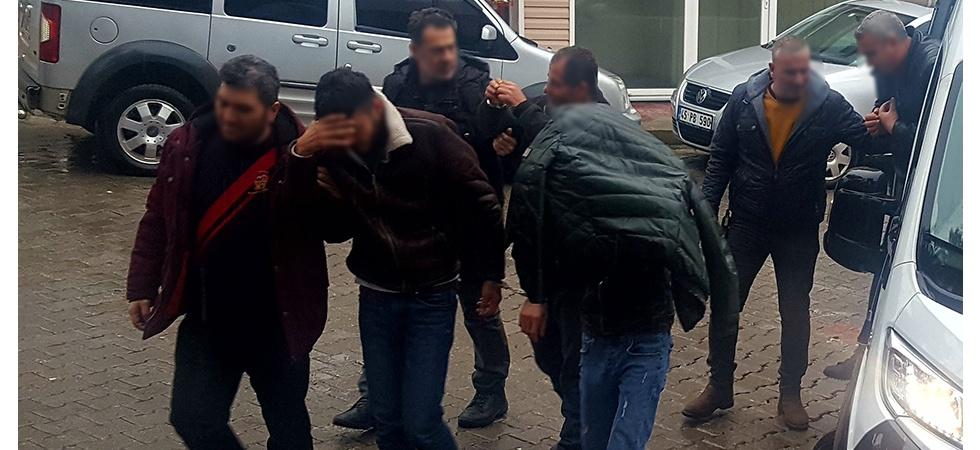 Demirci'de 4 Kişi dolandırıcılıktan tutuklandı