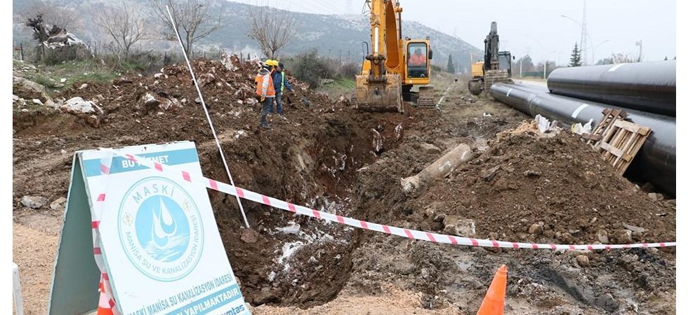 Manisa Merkeze 30 milyonluk içme suyu yatırımı