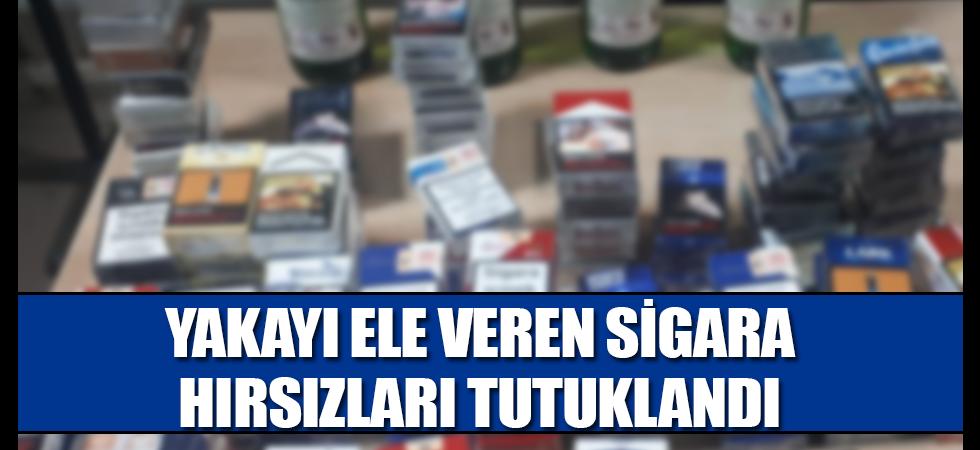 Yakayı Ele Veren Sigara Hırsızları Tutuklandı