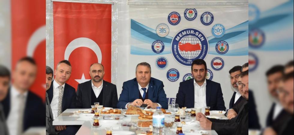 Manisa Memur-Sen'den Cumhur İttifakı'na destek