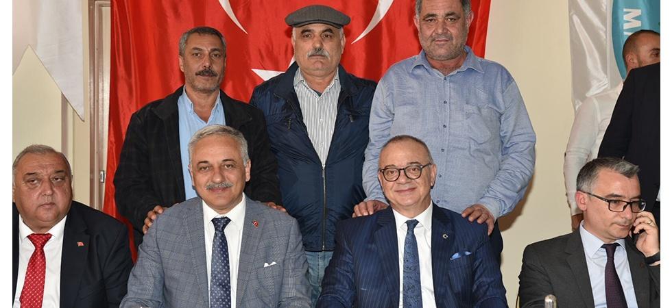 """Başkan Ergün:""""Hiçbir zaman siyasi düşünmedik, oy kaygısı gütmedik"""""""