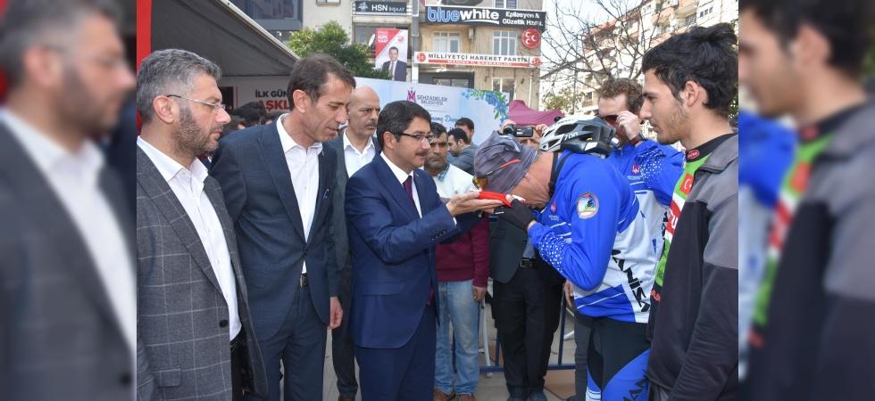 Bisikletçiler Şehzadeler'i Çanakkale'de temsil edecek