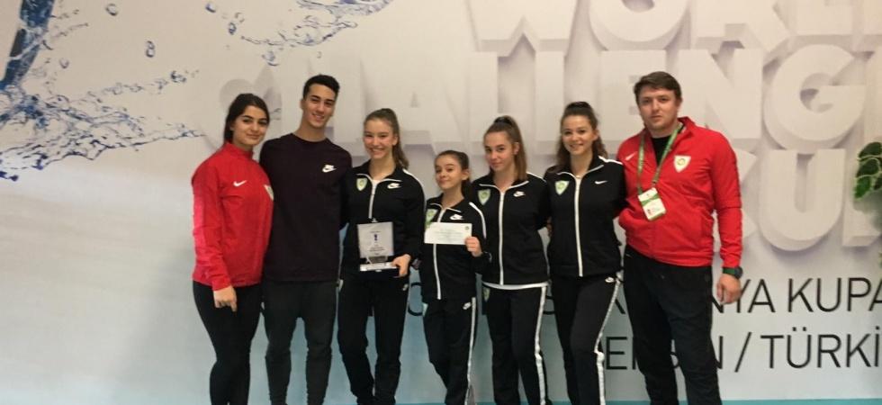 Cimnastiğin altın kızı Onbaşı yılın sporcusu seçildi