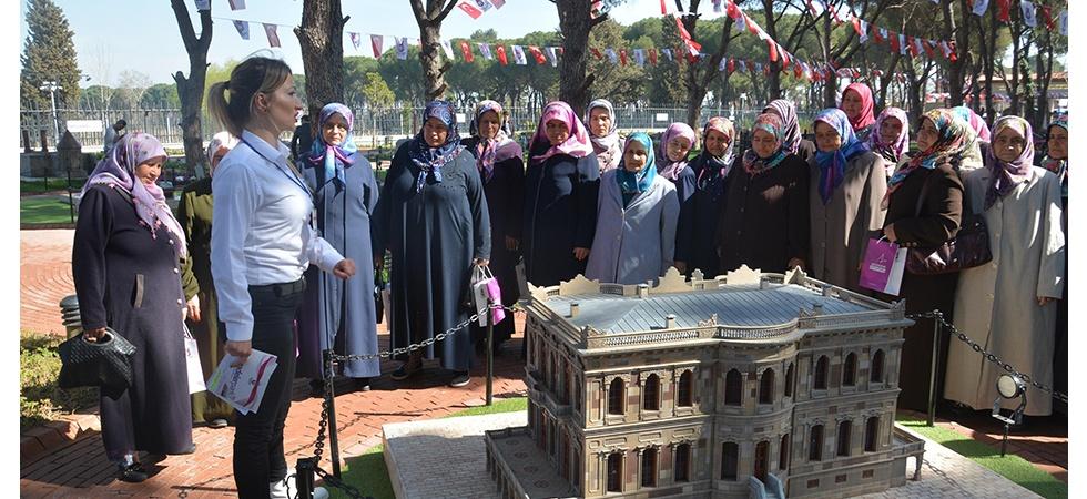 Kadınlar Şehzadelerpark'a hayran kaldı