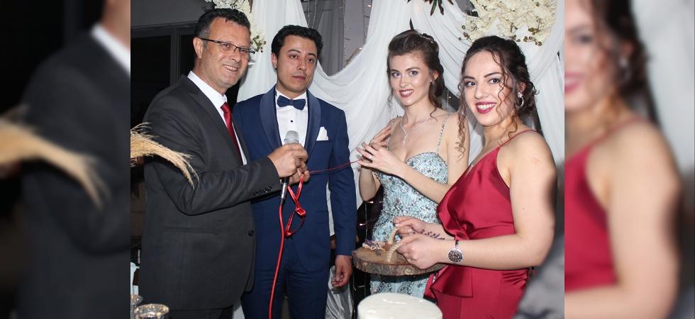 Başkan Öküzcüoğlu nişan yüzüğü taktı