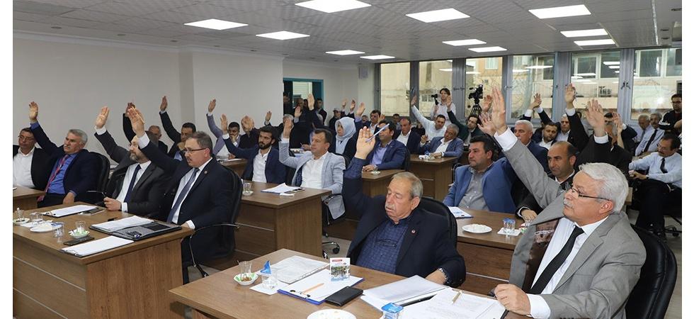 Turgutlu'nun yeni dönem ilk meclisi toplandı