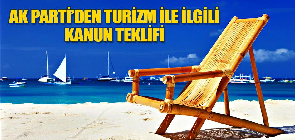AK Parti'den Turizm İle İlgili Kanun Teklifi