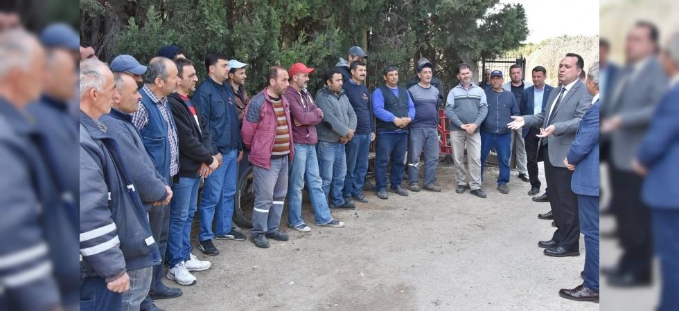 Akhisar Belediyesinde işçilerin tüm alacakları ödendi