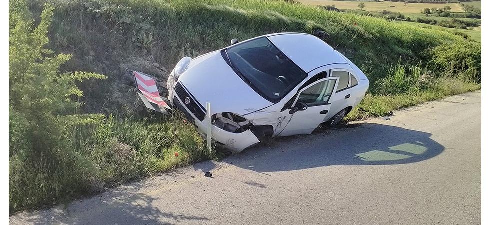 Manisa'da iki araç kafa kafaya çarpıştı: 3 yaralı