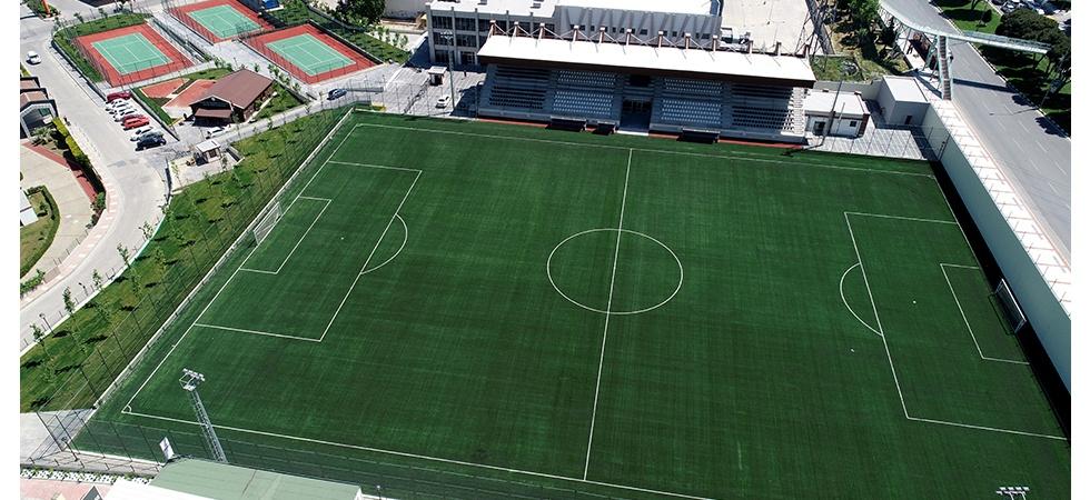 Manisa sporuna modern tesis kazandırıldı