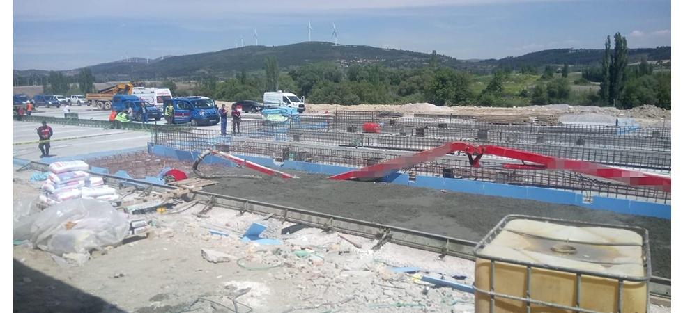 Soma'da iş kazası: 1 ölü