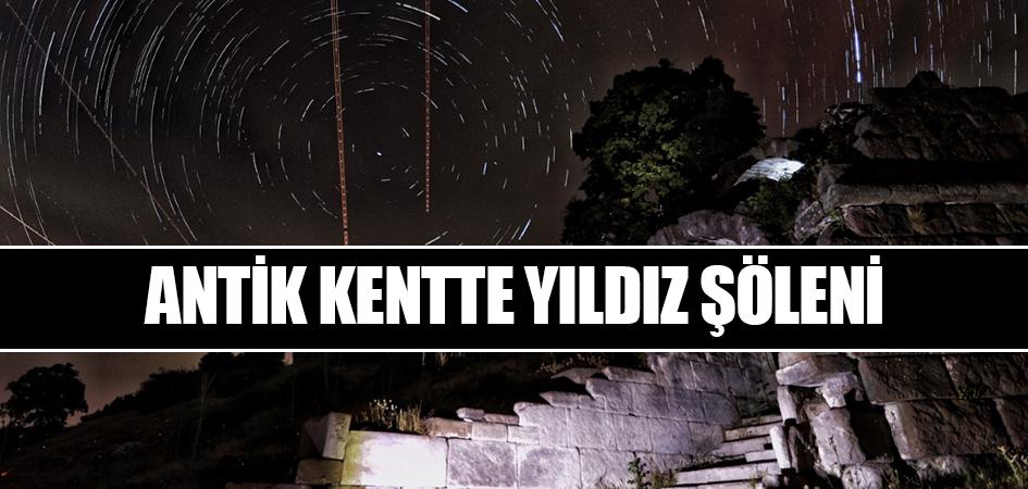 Antik kentte yıldız şöleni