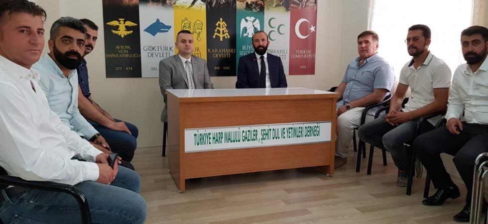 Refah Partisi Şehzadeler İlçe Yönetiminden TÜMŞAD Manisa Şubesine Ziyaret
