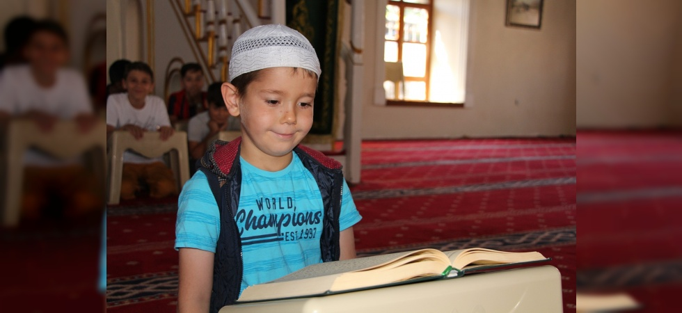 Yaz Kur'an kurslarına büyük ilgi