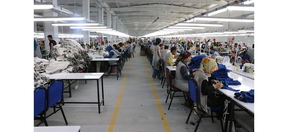 Yeni Tekstil Fabrikası'nda Üretim Başladı