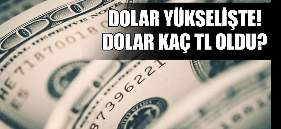 Dolar yükselişte! Dolar kaç TL oldu?