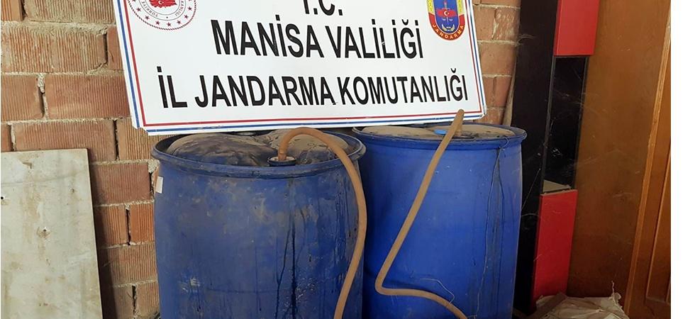 Manisa'da bir ton kaçak şarap ele geçirildi