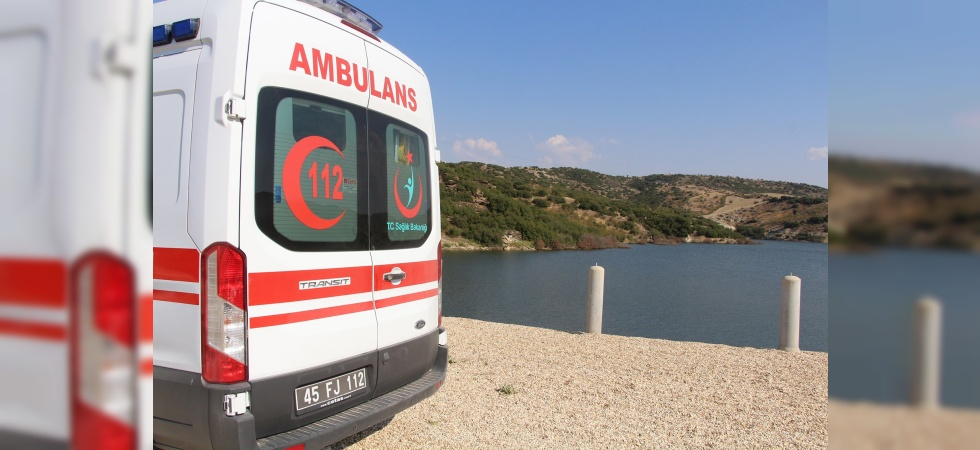 Sulama göletine giren iki kişi boğuldu