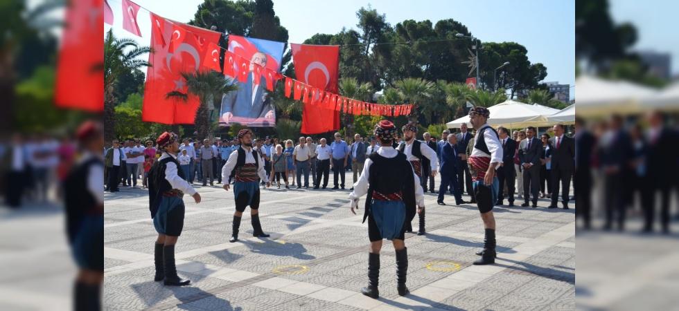Turgutlu'nun düşman işgalinden kurtuluşu kutlandı